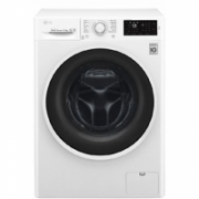 LG Washing Machine F0J6WN0W Front loading, Washing capacity 6.5 kg, 1000 RPM, Direct drive, A+++, Depth 44 cm, Width 60 cm, White  295,00