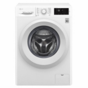 LG Washing machine F2J5WN3W Front loading, Washing capacity 6.5 kg, 1200 RPM, Direct drive, A+++, Depth 44 cm, Width 60 cm, White  300,00