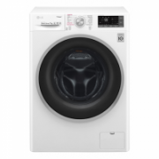 LG Washing machine F2J7HY1W Front loading, Washing capacity 7 kg, 1200 RPM, Direct drive, A+++-10%, Depth 45 cm, Width 60 cm, White, LED, Steam function, Display,  375,00