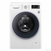 LG Washing machine  F4J7TY1W Front loading, Washing capacity 8 kg, 1400 RPM, Direct drive, A+++, Depth 56 cm, Width 60 cm, White, Display, LED, Steam function, Wi-Fi  431,00