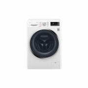 LG Washing machine with Dryer F2J7HG2W Front loading, Washing capacity 7 kg, Drying capacity 4 kg, 1200 RPM, Direct drive, B, Depth 45 cm, Width 60 cm, White, LED, Steam function, Display,  493,00