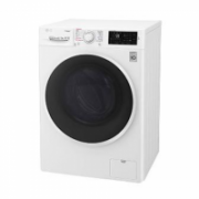 LG Washing mashine with dryer F4J6TG0W Front loading, Washing capacity 8 kg, Drying capacity 5 kg, 1400 RPM, Direct drive, A, Depth 56 cm, Width 60 cm, White, Motor type Direct Drive  569,00