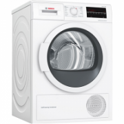 Bosch Dryer Machine WTW85L48SN  Condensed, Condensation, 8 kg, Energy efficiency class A++, Number of programs 9, Self-cleaning, White, Depth 60 cm, LED,  552,00