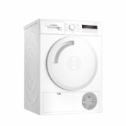 Bosch Dryer Mashine WTH8307LSN Energy efficiency class A+, Front loading, 7 kg, Heat pump, LED, Depth 60 cm, White  538,00