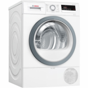 Bosch Dryer mashine WTR85VS8SN Condensed, Sensitive dry, 8 kg, Energy efficiency class A++, Self-cleaning, White, LED, Depth 60 cm,  519,00