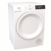 Gorenje Dryer machine DE71 Heat pump, Condensation, 7 kg, Energy efficiency class A+, White, LED, Depth 62.5 cm, Display,  491,00