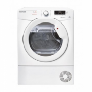 Hoover Dryer LLH D813A2X-S Condensed, Heat pump, 8 kg, Energy efficiency class A++, White, LED, Depth 61 cm,  399,90
