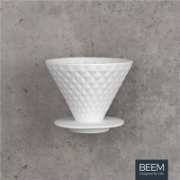 BEEM Coffee Filter with Stand  03377 Hand filter, White  12,00