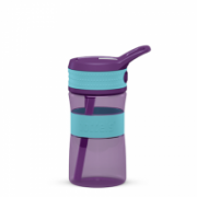 Boddels EEN Drinking bottle Bottle, Turqouise blue/ Purple, Capacity 0.4 L, Yes  12,00