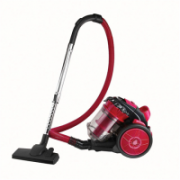 DomoClip Vacuum cleaner DOH118 Warranty 24 month(s), Bagless multi-cyclonic, Red, 700 W, 3 L, C, A, E, F, 79 dB, 230 V  51,00