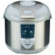Gastroback Rice cooker  42507 Inox/ White, 450 W, Capacity 3 L, Number of baskets 2  56,00