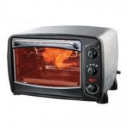 Haier HHC-19RC Electric Oven, 19L, 1380W, Black front  202,00