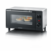 Severin Mini oven TO 2052 9 L, Electric, Black/ Silver, 800 W  38,00