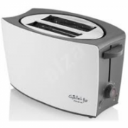 Gallet Toaster GALGRI219 White/Grey, Plastic, Number of slots 2, Number of power levels 8 levels  21,00