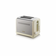 Gorenje Toaster T1100CLI Beige/ stainless steel, Plastic, metal, 1100 W, Number of slots 2, Number of power levels 6,  47,00
