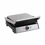 DomoClip Panini and press grill DOC166 Stainless steel/Black, 2000 W, 37 x 33 cm  49,00