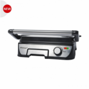 Steba FG56 Contact grill, Silver S^ Contact Grill   FG 56 Black/ stainless steel, 2000 W  69,00