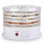 ORAVA Food Dehydrator SU-104 White, 250 W, Number of trays 5, Temperature control,  42,00