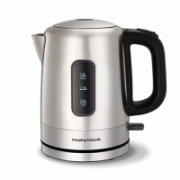 Morphy richards Accents Jug Kettle 101005 Electric, 2200 W, 1 L, Stainless steel, Brushed stainless steel, 360° rotational base  31,00