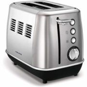 Morphy richards Evoke Toaster 224406 Power 850 W, Number of slots 2, Housing material Stainless steel, Brushed stainless steel  62,00