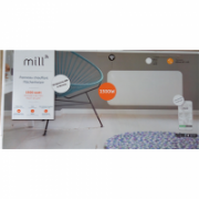 SALE OUT. Mill NE1500WIFI Heater, Panel, Steel, Power 1500 W, Width 85 cm, Room size 18-22 m2, White Mill NE1500WIFI Panel Heater, 1500 W, Suitable for rooms up to 18-22 m², White, Warranty 18 month(s), DAMAGED PACKAGING  119,00