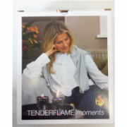 SALE OUT. TenderFlame Lilly 8 cm, 0,5 L, Silver (2 pack) Tenderflame Gift Set, 2 Tabletop burners + 0,5 L fuel,  Lilly 8 cm Silver, DAMAGED PACKAGING  19,00