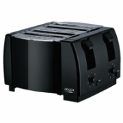 Adler Toaster AD 3211 Black, Plastic, 1300 W, Number of slots 4,  18,00