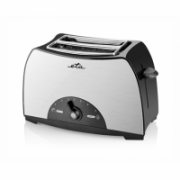 ETA Toaster ETA216690000 Black / Stainless Steel, Stainless steel, plastic, 800 W, Number of slots 2, Number of power levels 7,  24,00