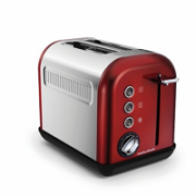 Morphy richards 222011 Red, Stainless steel, Number of slots 2, Number of power levels 7,  37,00