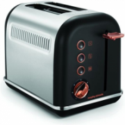 Morphy richards Toaster 222013 Black, 850 W, Number of slots 2, Number of power levels 7,  32,00
