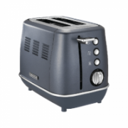Morphy richards Toaster 224401  Steel Blue, Stainless steel, 900 W, Number of slots 2, Number of power levels 7,  64,90