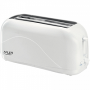 Toaster Adler AD 3207 Plastic, 1500 W, Number of slots 2, Number of power levels 7,  19,00