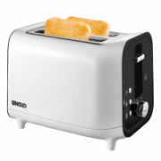 Unold Toaster 38410 White/ black, Plastic, 800 W, Number of slots 2, Number of power levels 6, Bun warmer included  26,00