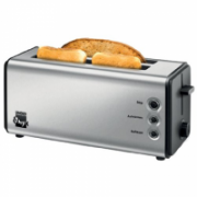 Unold Toaster 38915 Stainless steel, Stainless steel, 1400 W, Number of slots 2, Bun warmer included  35,90