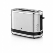 WMF Toaster KITCHENminis Stainless steel,  Cromargan® 18/10 stainless steel, 600 W, Number of slots 1, Bun warmer included  49,90