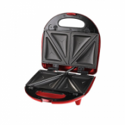 DomoClip 3 in 1 Sandwich Press grill waffle DOP133 Red, 700 W, Number of plates 3, Number of sandwiches 2  32,00