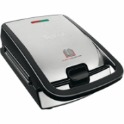TEFAL Sandwich and Waffle Maker SW852D12 Inox / black, 700 W, Number of plates 2  68,00