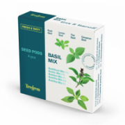 Tregren Fresh&Tasty Basil Mix, 4 seed pods: bush basil, lemon basil, thai basil,cinnamon basil, SEEDPOD88  14,00