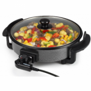 Tristar Multifunctional grill pan PZ-2963 Grill, Diameter 30 cm, Lid included, Fixed handle, Black  22,00