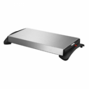 Unold Warming plate 58815 Stainless steel/Black, 1100 W, 23,8 x 46,5 cm  44,00