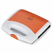 Adler AD 3021 Waffle maker Orange, 750  W, Belgium, Number of waffles 2  13,90