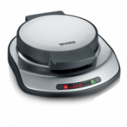 Severin Waffle maker 2107 Stainless steel / black, 1200 W, Round, Number of waffles 1  39,00