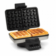Waffle maker Tristar WF-2141 Stainless steel/Black, 1000 W, Belgium, Number of waffles 2  26,00