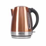 Camry Kettle CR 1271 Electric, 2200 W, 1.7 L, Stainless steel, Copper, 360° rotational base  22,00
