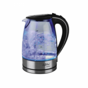 Gallet Electric kettle Montargis GALBOU742 Standard kettle, Glass, Glass/Black, 2200 W, 1.7 L, 360° rotational base  22,00