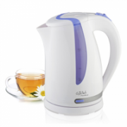 Gallet Kettle Moulins GALBOU743WP Standard kettle, Plastic, White, 2200 W, 360° rotational base, 1.7 L  18,00