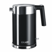 GRAEF. Kettle WK 62 Standard, Stainless steel, Black, 2150 W, 360° rotational base, 1.5 L  56,00