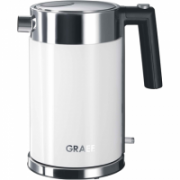 GRAEF. Kettle WK401EU Standard, Stainless steel, White, 2000 W, 360° rotational base, 1 L  44,90