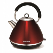 Morphy richards 102004 Type Standard kettle, Red, 3000 W, 1.5 L, 360° rotational base  41,00