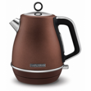 Morphy richards Kettle  104401 Standard, Stainless  steel, Bronze, 2200 W, 360° rotational base, 1.5 L  69,90